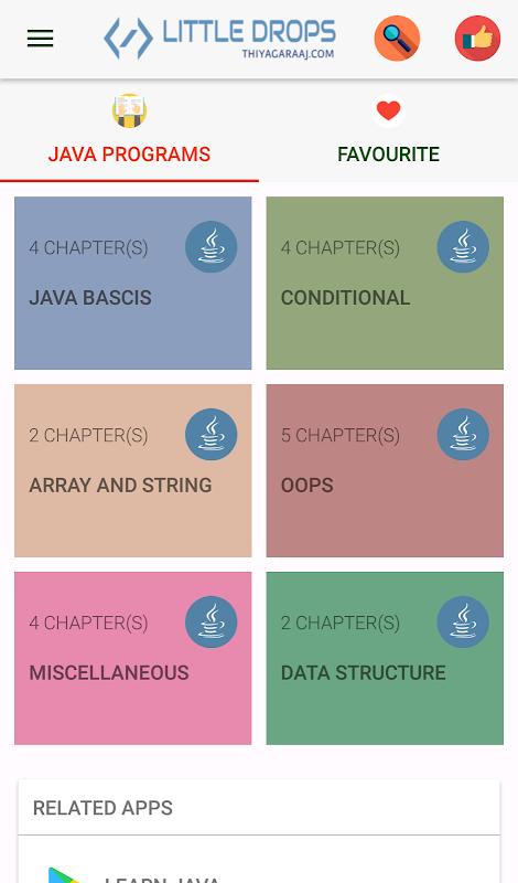 Learn Java Programs APK 3 1 Download - Free Education APK