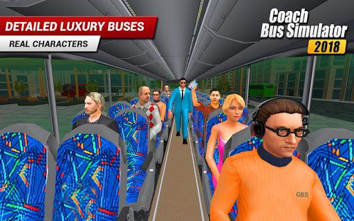Coach Bus 2018: City Bus Driving Simulator Game 1.0.5 screenshots 5