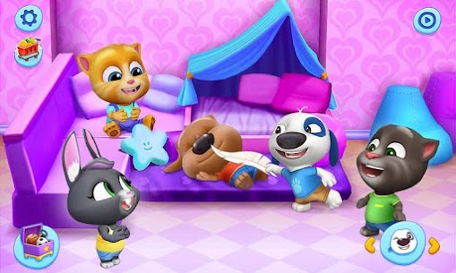 My Talking Tom Friends Mod Apk (Unlimited Money) 1.2.1.3 4