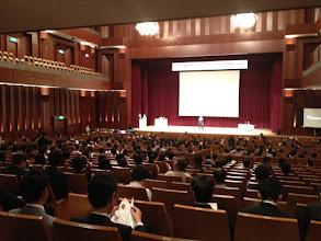 Photo: 北園会長による開会宣言