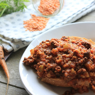 Slow-cooker Lentil Sloppy Joes