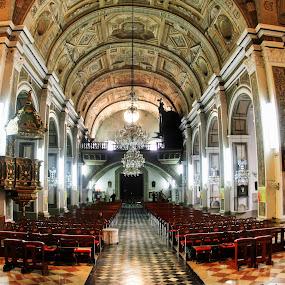 San Agustin Church by Wilfredo Garrido - Buildings & Architecture Places of Worship ( churches, buildings, architecture, places of worship )
