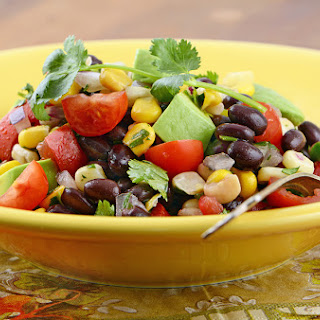 Corn, Black Bean, and Mango Salad.