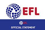 Voor het eerst in een jaar: geen enkele speler test positief op corona bij 72 EFL-clubs