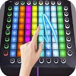 Virtual Electro Pad DJ