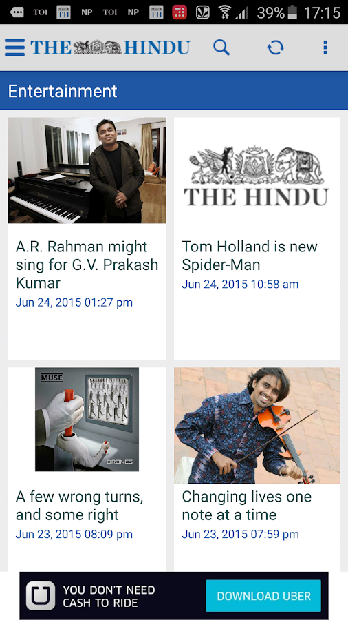 The Hindu News (Official app) - screenshot