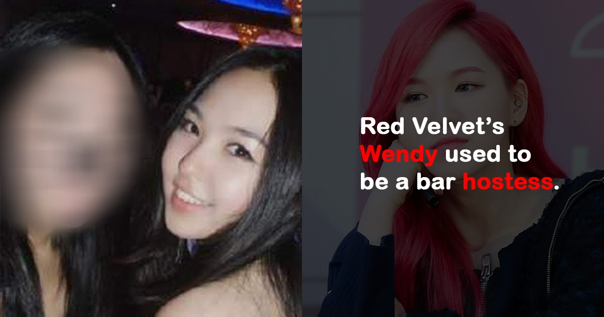 red velvet wendy dating