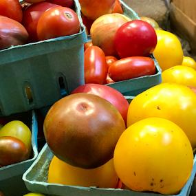 Tomatoes by Lope Piamonte Jr - Food & Drink Fruits & Vegetables