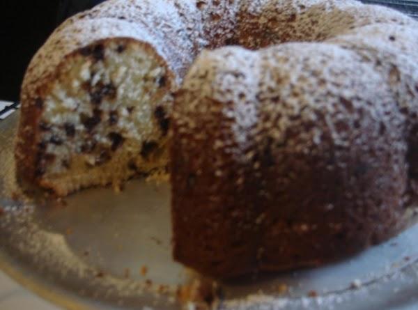 Chocolate Chip Sour Cream Pound Cake Recipe