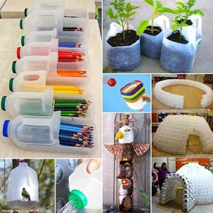 Crafts From Plastic Bottles - náhled