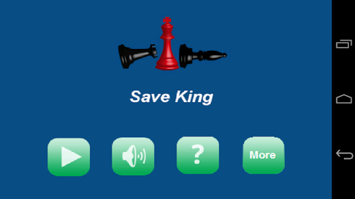 Save King from Rook Bishop