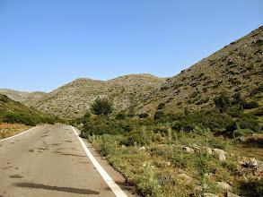 Photo: 11.To już Góry Psiloritis, najwyższe pasmo górskie Krety.