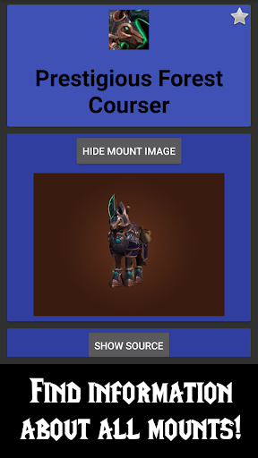 WoW Mount Tracker 1.11.0 screenshots 1