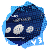 Navy PlayerPro Skin