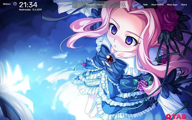 Anime Girl Wallpapers HD Theme