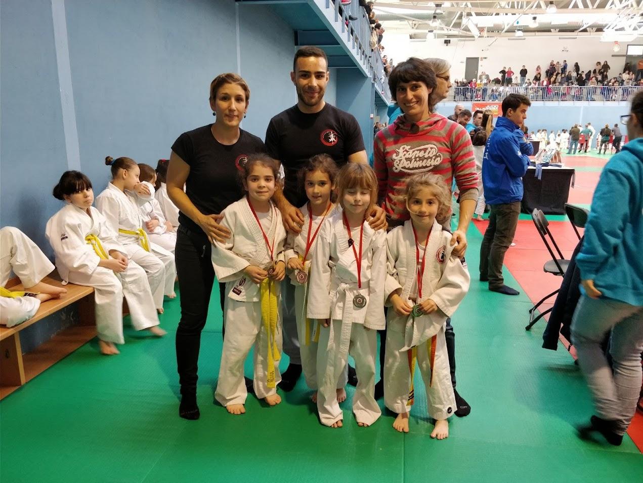 judokas y entrenadores