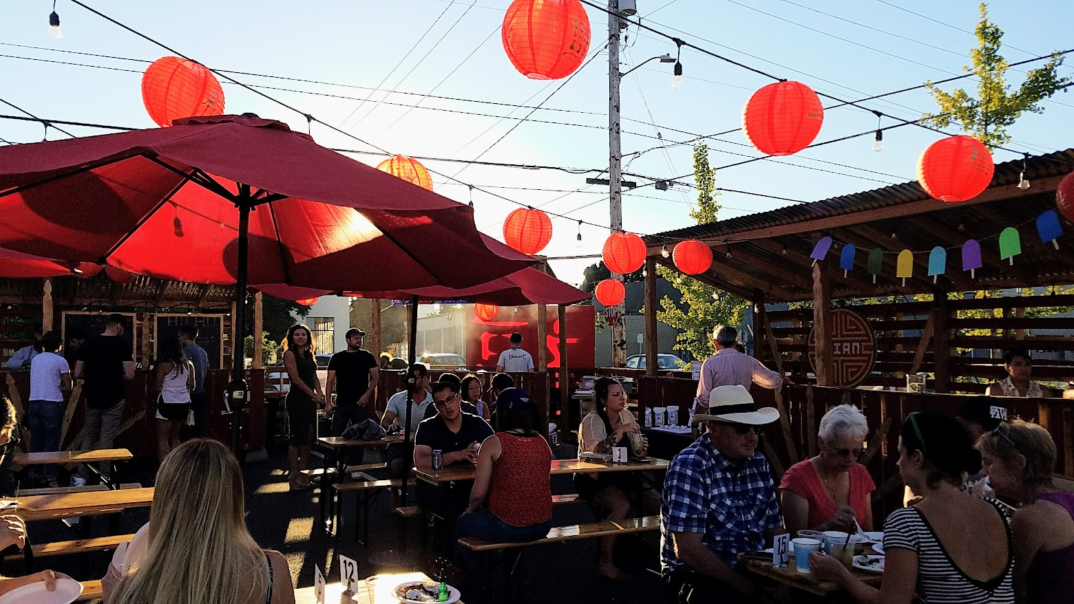 Mian PDX is doing their Chinese-American food and drinks in an Asian Night Market they are calling Mama Huhu in the Renata parking five days a week, Wednesday- Sunday 5 PM - 10 PM till September 3rd