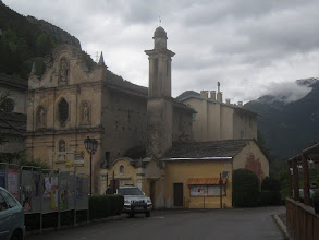 Photo: La Brigue (Briga) was part of Italy until 1947.