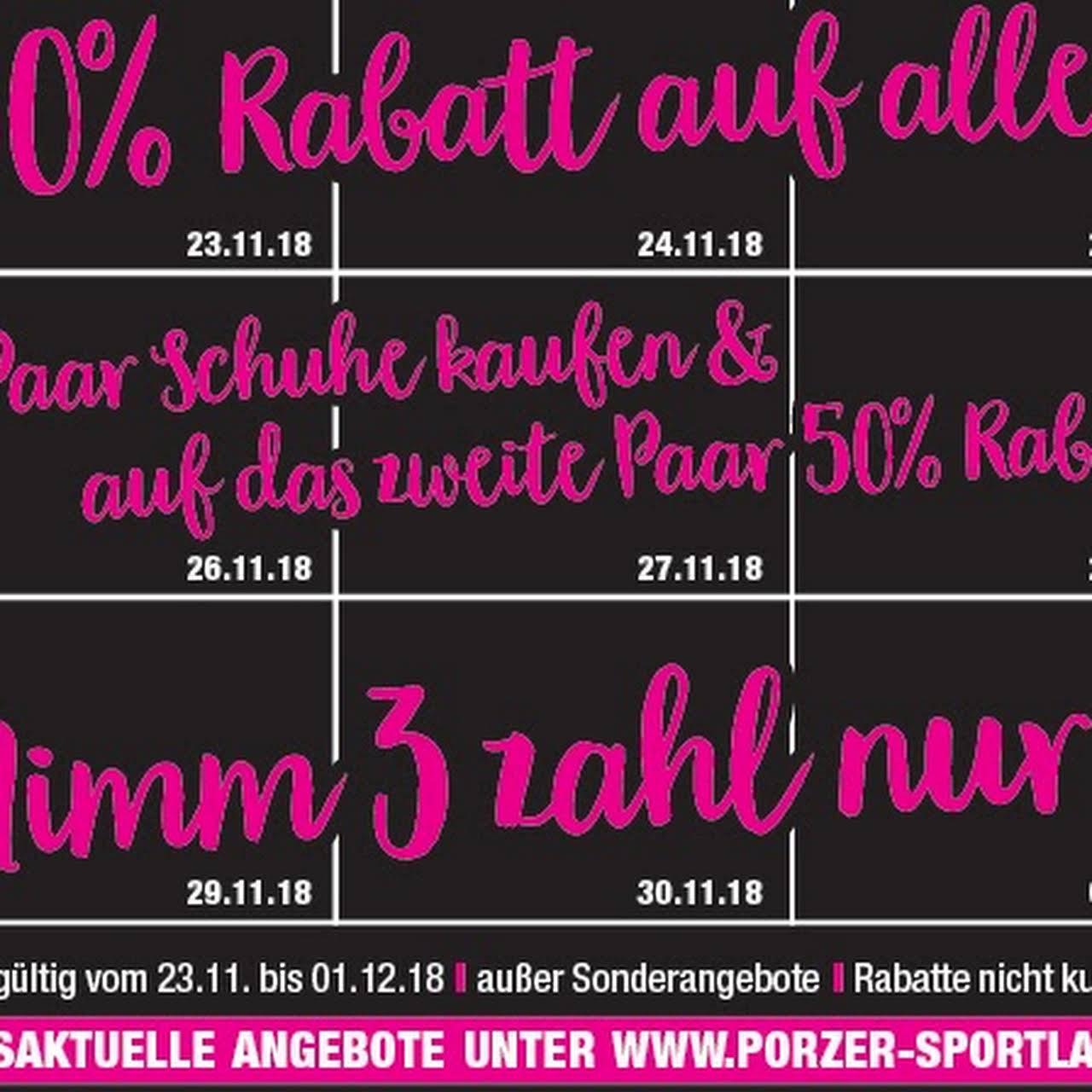 Porzer Sportladen Lifestyle GmbH Ihr Sport und