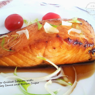 Salmon With Soy Sauce And Brown Sugar Recipes.