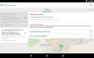 Screenshot of BayWa Agri-Check