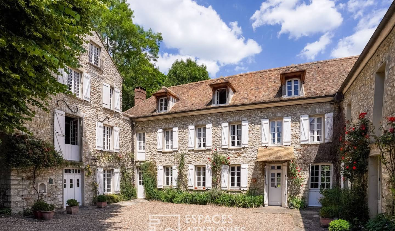 Maison avec terrasse Rosay