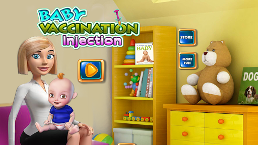 Baby Vaccination Injection