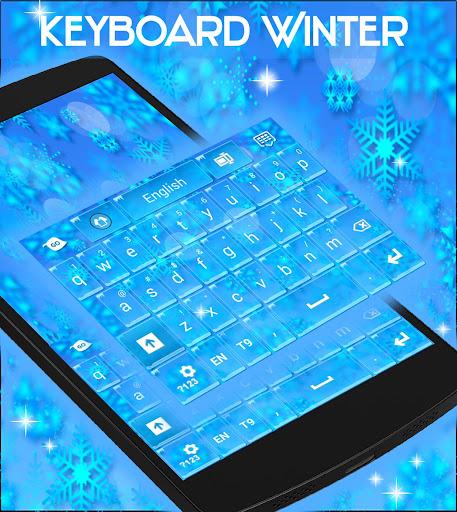 無料个人化Appのキーボードの冬のテーマをGO|記事Game