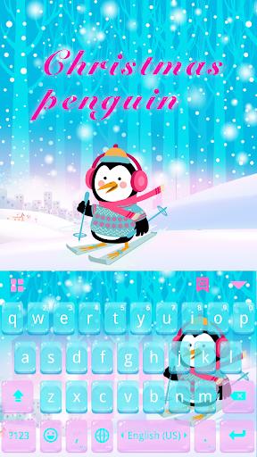 ChristmasPenguin KeyboardTheme