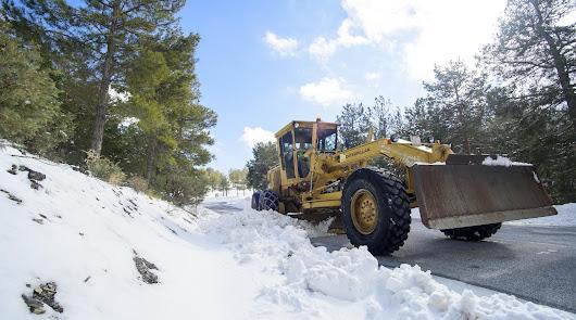 Medio centenar de efectivos para un invierno tranquilo en las carreteras