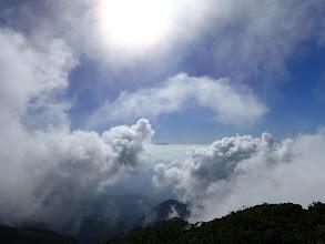 雲海と乗鞍岳