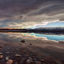 Lake Pukaki by Gordon Koh - Landscapes Cloud Formations