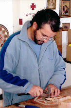 Photo: This woodworker in Salinas was trained in Morocco.