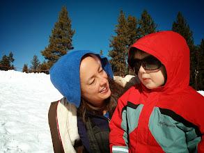 Photo: Mommy and Finn Share Sunglasses