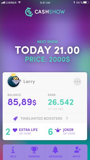 Cash Show - Win Real Cash!  screenshots 8