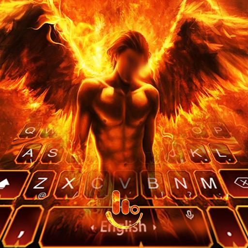 Fire Angel Keyboard Theme