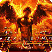 Fire Angel Keyboard Theme