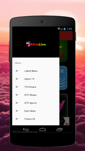 Download Africa Live TV Google Play softwares - appZLOIUwd6x