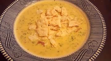 Instant Pot Broccoli-Ham & Cheese Soup