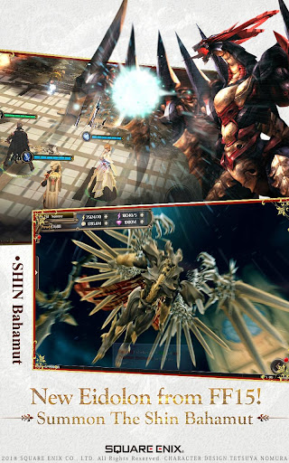 FINAL FANTASY AWAKENINGuff1aSE Authorize 3D ARPG 1.13.1 screenshots 10