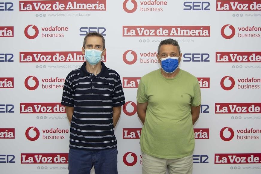 Francisco Cruz Salas, responsable de producción en Casi; y Gregorio Palomino Castro, responsable de informática en Casi.