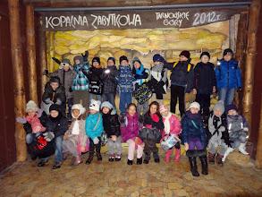 Photo: 7 XII 2012, Kopalnia Srebra (Tarnowskie Góry), klasa 3b i 3c (fot. p. Grażyna Liberka)