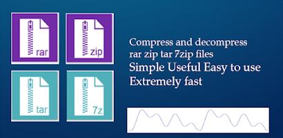 Pro Rar Zip Tar 7Zip, Private Vault, File Explorer - Paid Android