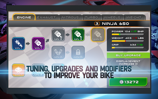 Drag Racing: Bike Edition screenshot 10