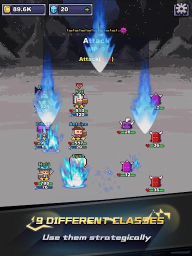 Infinite Knights - Turn-Based RPG 1.1.22 screenshots 7