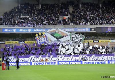 Le Sporting d'Anderlecht pense à ses supporters