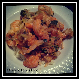Shrimp Stir Fry -Paleo/Whole 30