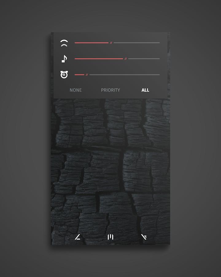 Coalfield - CM12 Theme - screenshot