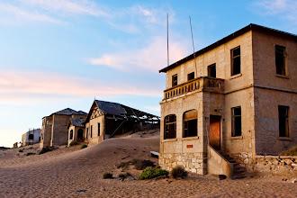 Photo: Kolmanskop ghost town, Namibia