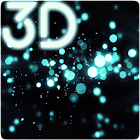 Gyro Particles 3D Live Wallpaper icon